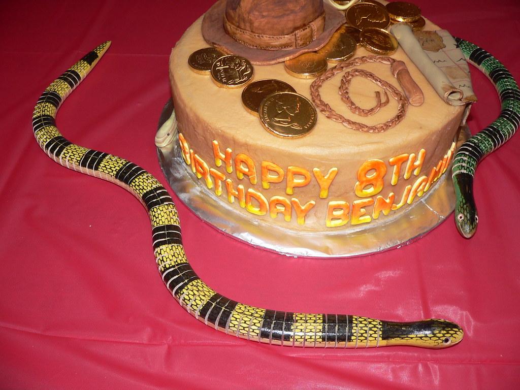 Admirable Indiana Jones Birthday Cake Fantastic Creation By Emma D Flickr Funny Birthday Cards Online Inifodamsfinfo