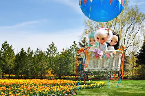 tulips hotairballoon blythe misssallyrice simplyvanilla