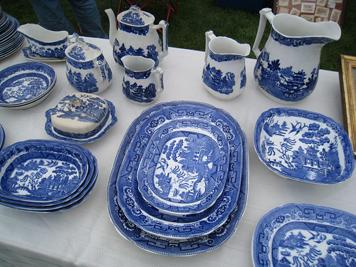 Blue and White China @ Todd's Farm | by katy elliott