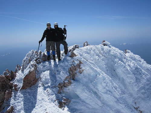 Dad and I on the summit!!! | by Jeremy Gillick