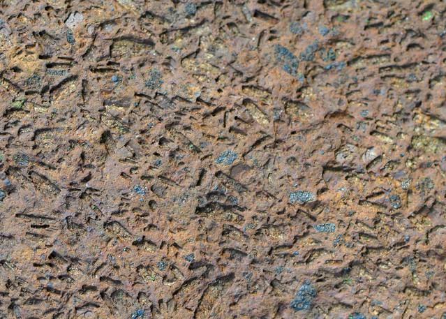 weathered basalt texture