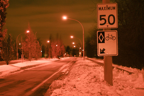 04551 Snow in the Paisley Blvd. bike lane | by geekstinkbreath