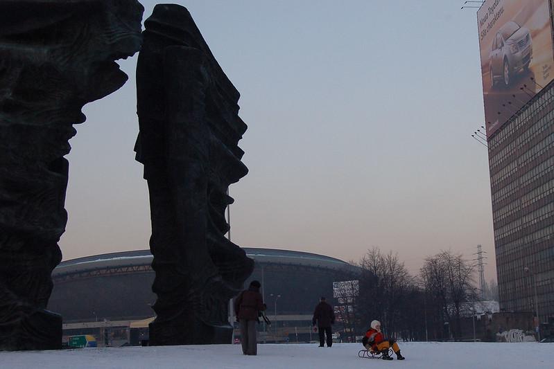 Zima w mieście 02 / Winter in the city 02