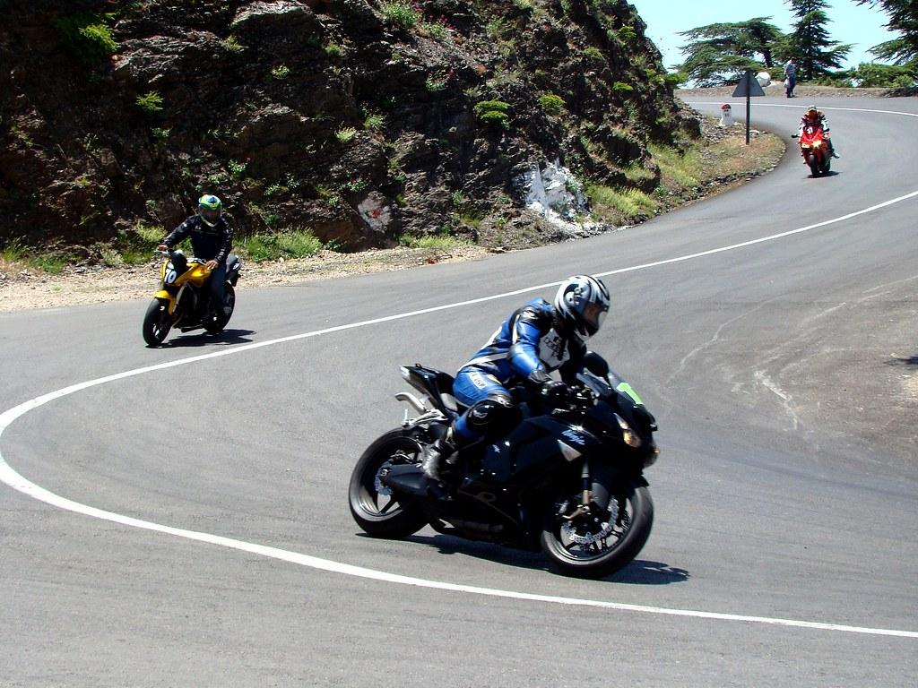 Course De Moto Pour Les Amateur A Chrea Blida Kawasaki Z Flickr