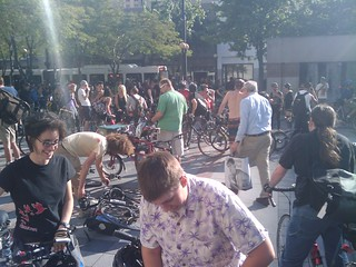 Gettin ready for Seattle Critical Mass june 2009
