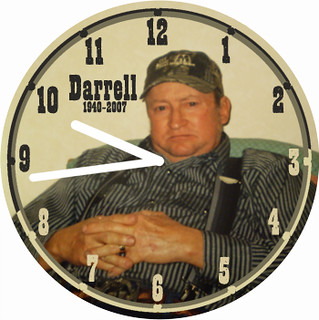 Darrell Memorial Clock | by customclockface
