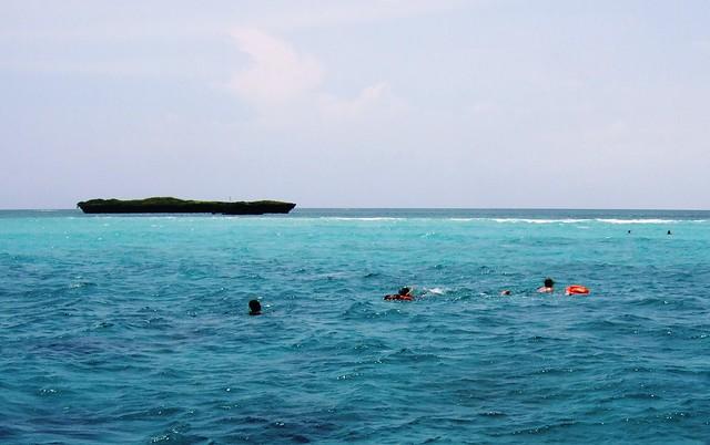 Snorkeling at Kisite Reef