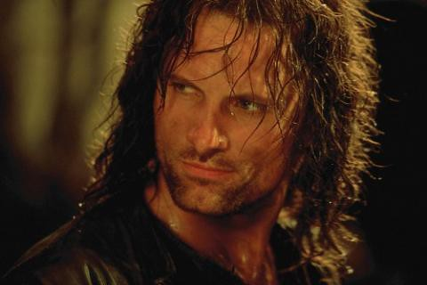 Viggo as Aragorn