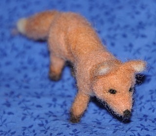 Felted Fox | by littlesisterhandmade