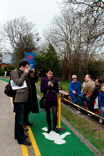 Group clue 2 - Show your team enjoying the minature railway | by photoverulam