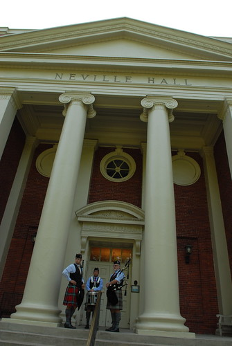 Neville Hall on Presbyterian College