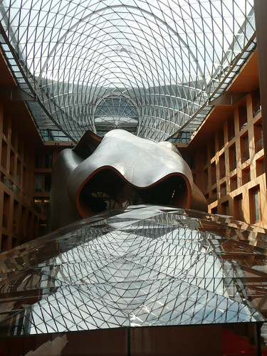 Interior of Frank Gehry's DZ Bank building | by aloharakesh