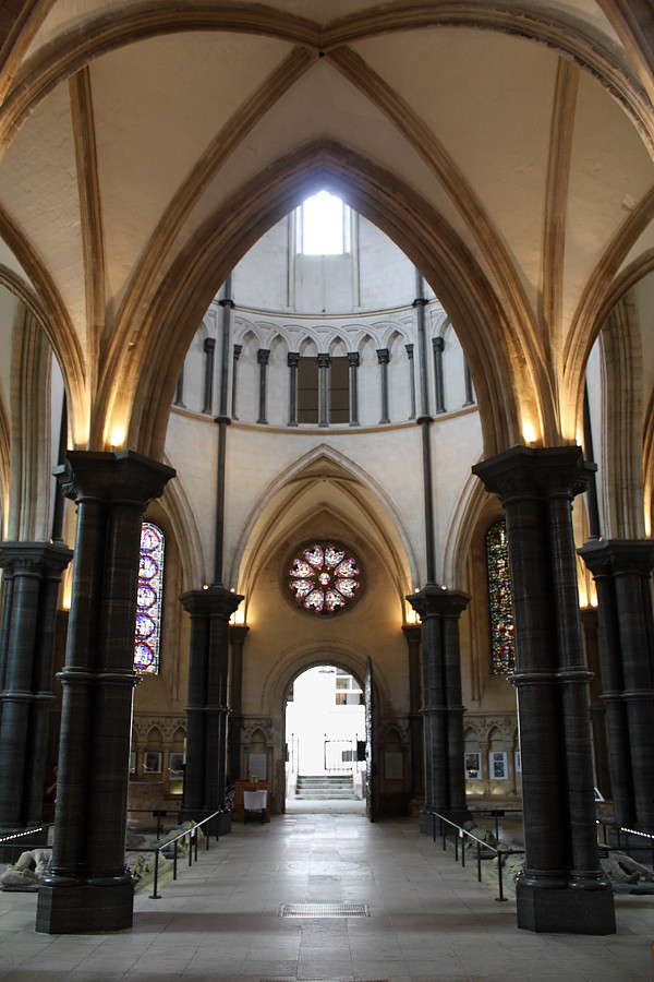 Temple Church Of St Mary Temple London Ec4 Uk The