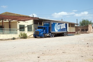 Corona Truck Parked Next to an Abandoned Building | by Carolinadoug