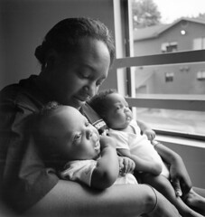Mother with twins, 1999 | by Seattle Municipal Archives