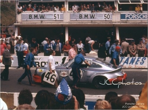 24 Heures du Mans 1973 Porsche Martini 911 Carrera RSR