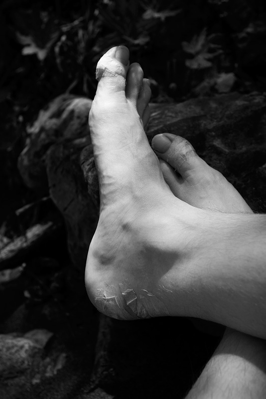 Taped Feet by AlwaysJanuary (Randy)