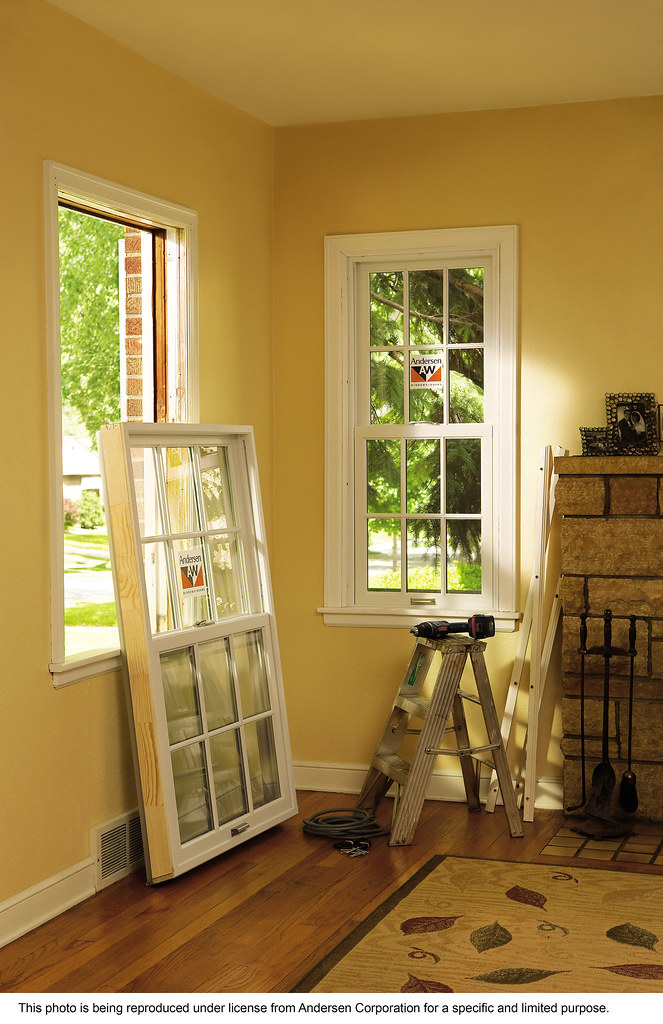 Anderson Replacement Windows >> Andersen 400 Series Energy Efficient Woodwright Double H