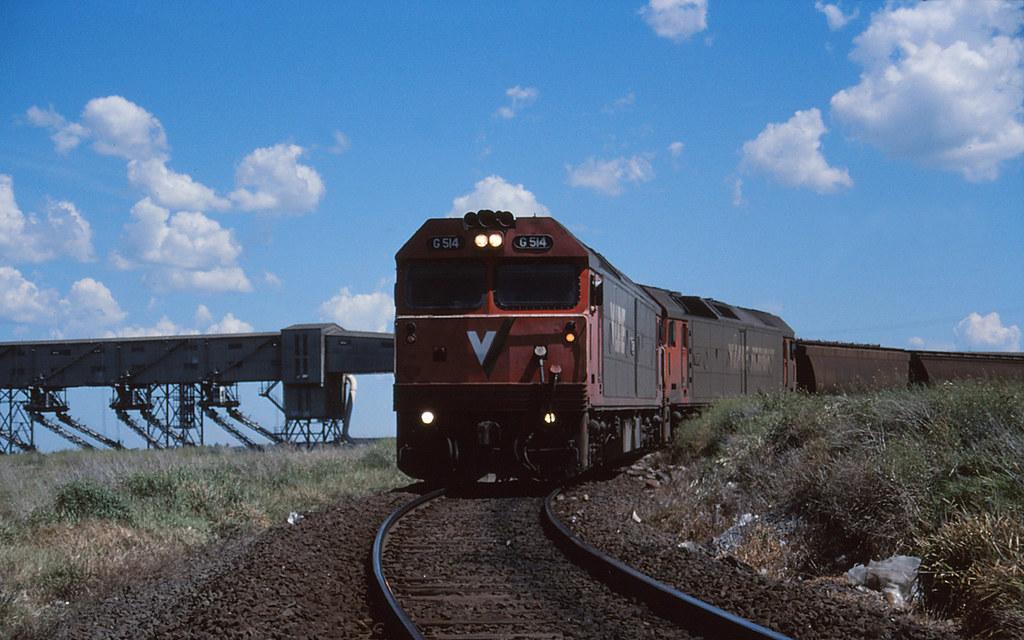 1036 - Geelong grain loop by michaelgreenhill