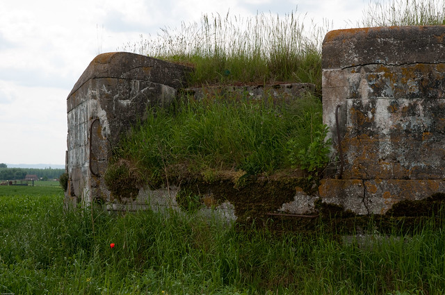 090520-7 Aubers Ridge, German blockhaus or bunkers