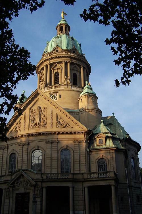 Kirche orthodoxe mannheim käfertal Philippuskirche (Mannheim)