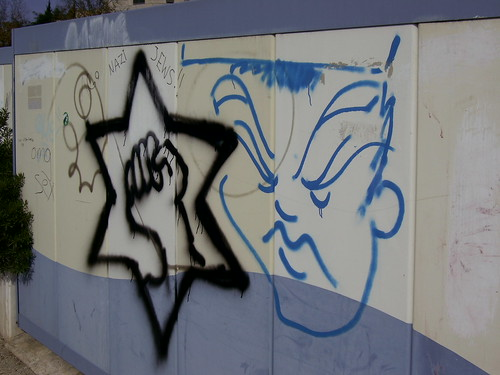 Nazi Jews Graffiti | by zeevveez