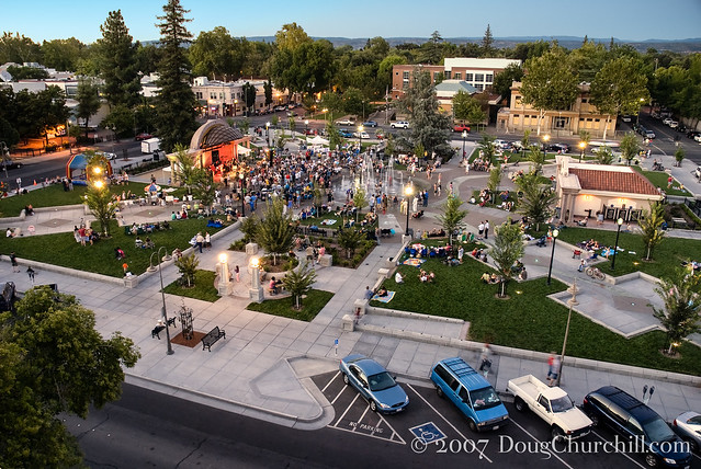 Downtown Plaza • Chico, CA