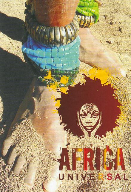 Africa Universal Ad Postcard