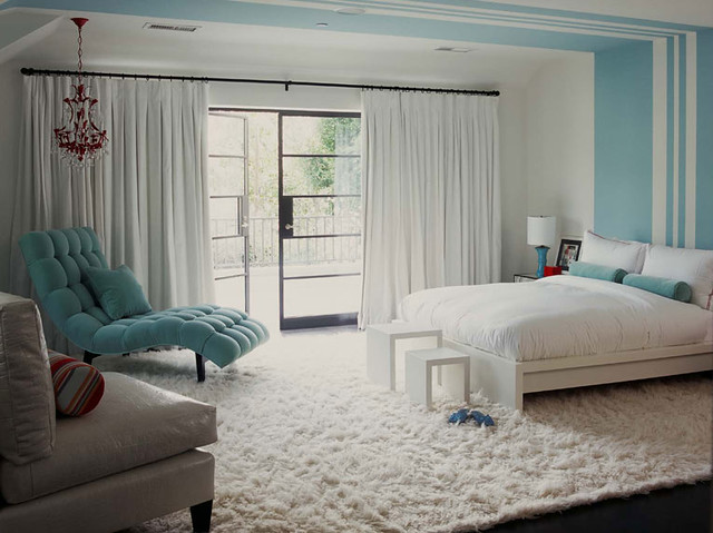 Fluffy White U0026 Tiffany Blue Bedroom | I Loooooove That Loung ...