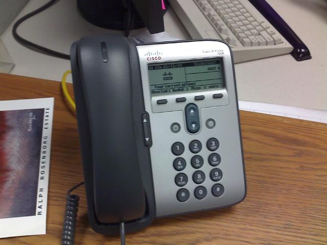 Cisco IP Phone at TriMet