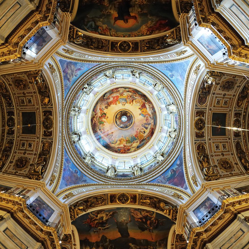 Saint Isaac's Cathedral Interior by christian.senger