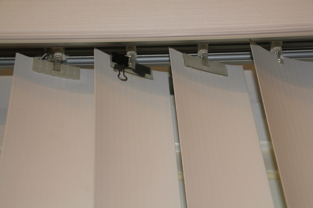 Vertical Blinds Temporary Repair Vertical Blinds And Cur