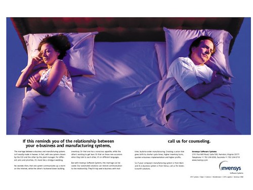 Bed B2B ad   by Bright Orange Advertising