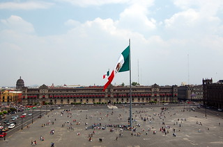 Zocalo in Mexico City | by mdanys