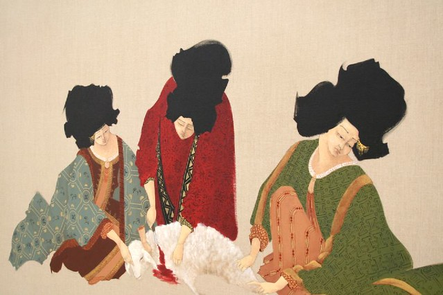 "At the Saatchi : Hayv Kahraman, ""Collective Cut"""