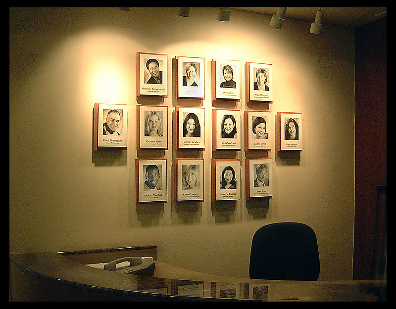 Personnel Display, San Francisco Bay Club