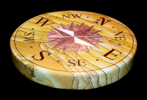 Compass Stone by John Carmichael   by Sundials by Carmichael