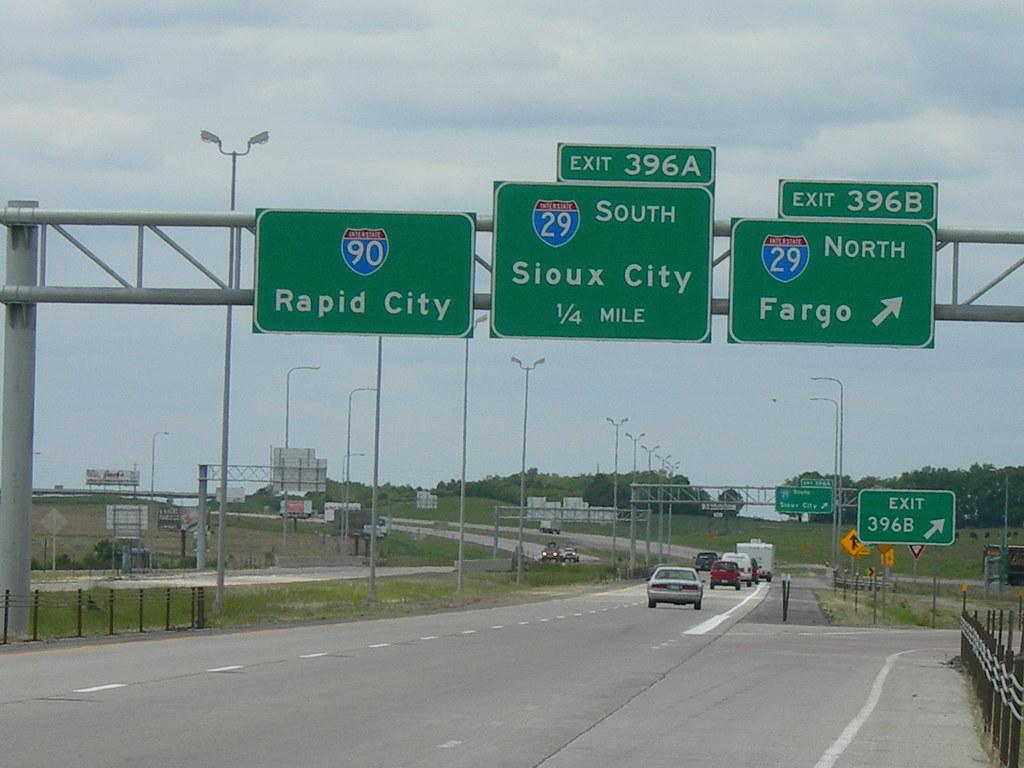 I 90 & I 29 interchange | Sioux Falls, South Dakota | Flickr