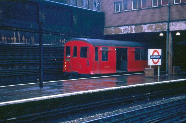 Whitechapel station in 1970