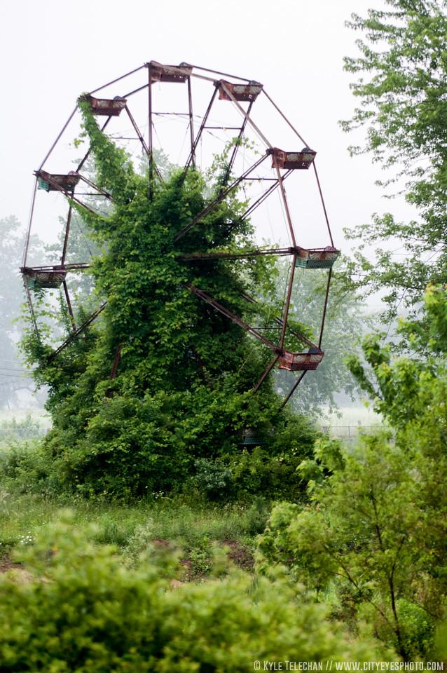 Abandoned Ferris Wheel