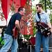 Danny Collet and Joel Martin at 2010 Breaux Bridge Crawfish Festival
