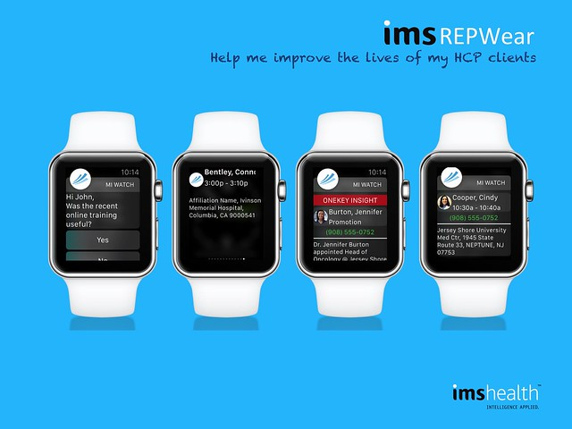 Product Review: Two Apple Watch Enterprise Apps Launched With IMS