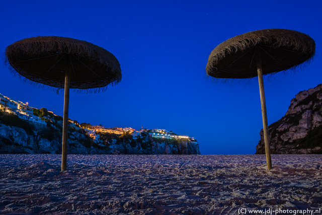 Blue hour at the beach