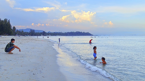 sunset beach chumphon luminositymasking