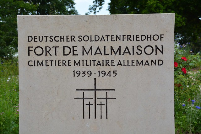 Deutscher Soldatenfriedhof Fort de Malmaison (France 2015)