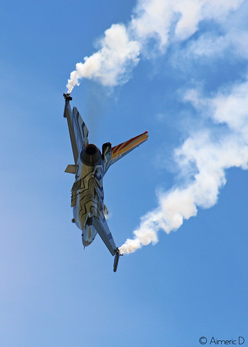 Belgian F16 Solo Display Team   by Aimeric D. Photographies