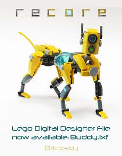 Recore Buddy Mack Building Instructions Lego Digital D Flickr