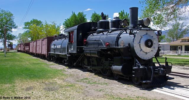 Museum train, Laws, California
