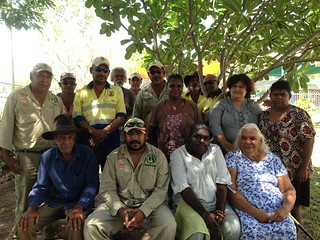 11 February, 2014 - 12:27 - Gkuthaarn and Kukatj Traditional Owners meet to develop a strategic land and sea management plan.
