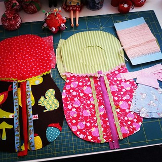 A lot sewing ahead ....